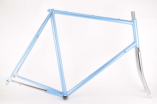 NOS lightblue Romani frame in 63.0 cm (c-t) / 61.5 cm (c-c)