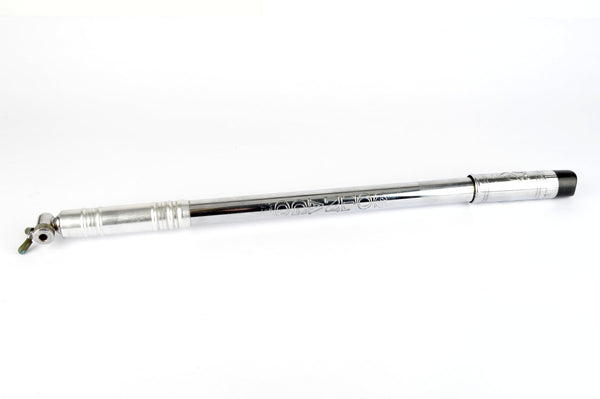 GC Export Mod. Dep. branded Colnago Bike Pump in silver/black in 480-510mm from the 1970s - 80s