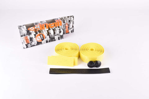 Cinelli Gel Cork Ribbon Handlebar Tape, yellow