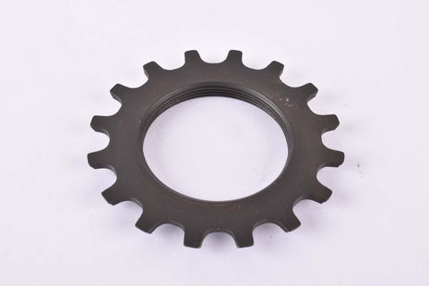NOS Shimano 600 #1241615 Cog with 16 teeth threaded on inside (#BC40) in black from the 1970s