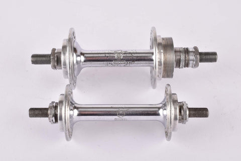 Gnutti 3 piece Hub set with 36 holes and italian thread from the 1940s/50s