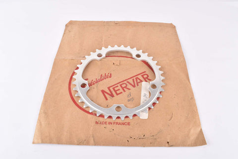 NOS Specialites Nervar chainring with 38 teeth and 122 BCD from the 1980s
