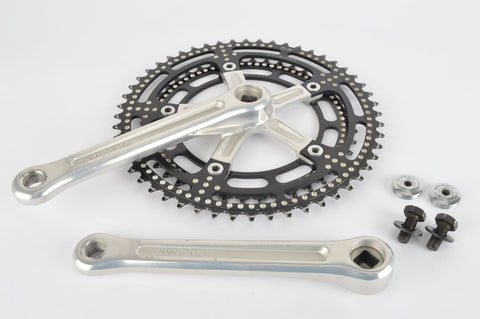 Shimano Dura-Ace #GA-200 Black drilled Crankset with 42/52 teeth and 170mm length from 1976