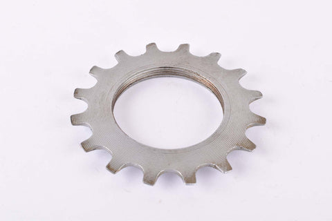 NOS Shimano 600 Uniglide #1241615 Cog with 16 teeth threaded on inside (#BC40) in silver from the 1970s - 80s