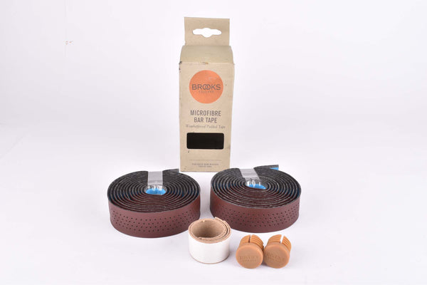 Brown Brooks Microfibre Bar Tape Weatherproof Padded handlebar tape