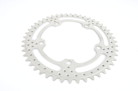 drilled Aluminium 5 bolt Chainring 48 teeth with 122 BCD from 1980s