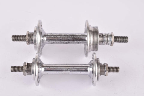 Gnutti Airone 3 piece Hub set with 36 holes and italian thread from the 1940s/50s