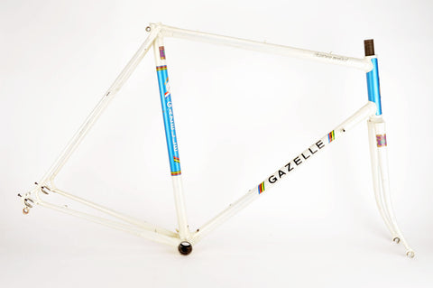 Gazelle Champion Mondial frame in 56 cm (c-t) / 54.5 cm (c-c) with Reynolds 753 tubes