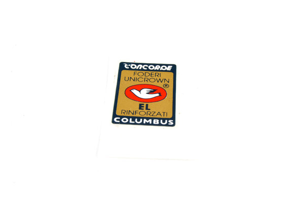 NEW Columbus Concorde foderi unicrown #EL RINFORZATI Decals