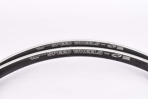 NOS Xtreme handmade Speedwheels clincher Rimset (2 rims) 28inch / 622 x 13mm with 28 holes