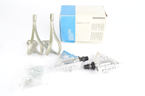 NEW Shimano RX100  #PD-A550 Pedals with english threading from the 1980s - 90s NOS/NIB