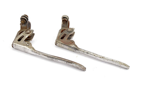 Old French Road Bike brake lever set from 1940s