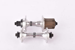NOS Shimano 105 # FH-1051, HB-1050 7 speed hubs from the late 80s