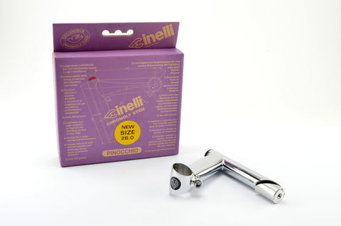 NEW Cinelli Pinocchio Stem in size 100, clampsize 26.0 from 1997 NOS/NIB
