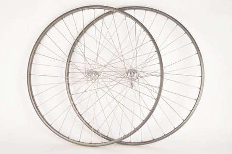 Wheel Set Mavic MA 40 clincher rims with Campagnolo C-Record hubs from the 1980s - 1990s