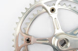 Campagnolo Super Record #1049/A no flute arm engraved logo crankset with 42/52 teeth and 170 length from 1986