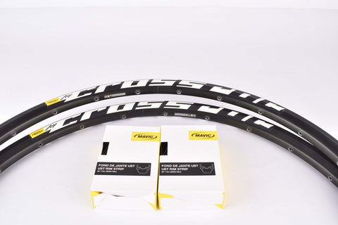 "NOS Mavic Cross Roc Disc tubeless rim set in 26""/559mm with 24 holes"