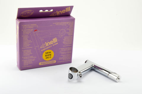 NEW Cinelli Pinocchio Stem in size 115, clampsize 26.0 from 1997 NOS/NIB