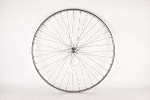 "28"" (700C) front Wheel with Nisi Moncalieri Torino-Italia Tubular Rim and Gnutti 3 piece Hub from the 1940s / 1950s - 1960s"