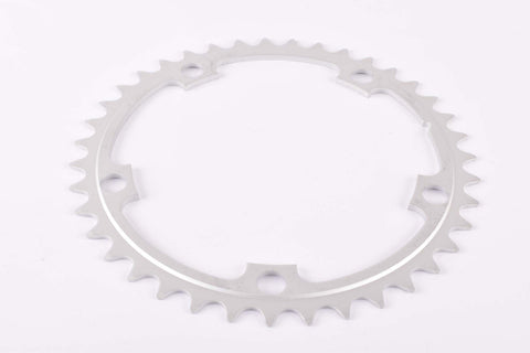 NOS Aluminium chainring with 39 teeth and 130 BCD from the 1980s