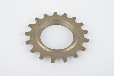 NOS Everest or Regina sprocket, double threaded on inside, with 17 teeth