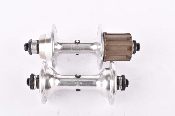 NOS Shimano 105 Golden Arrow #FH-F105 / #FH-R105 6-speed low flange Hub set with 36 holes from 1985