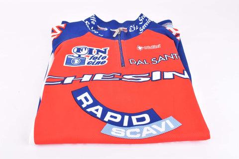 Vintage Chesini Cicli jersey in size 5 made by Nalini