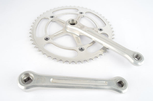 Campagnolo Record Pista #1051 Crankset with 52 teeth and 165mm length from the 1960s - 80s