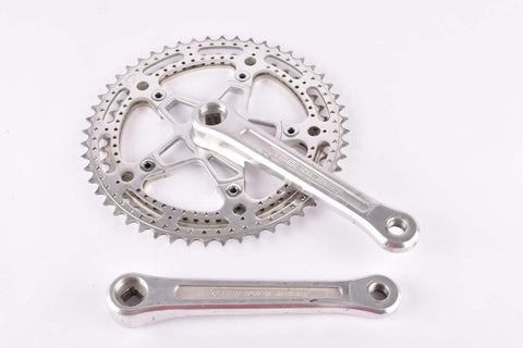 Stronglight 105 bis crankset with drilled chainrings 45/52 teeth and 170mm length from the 1970s - 1980s