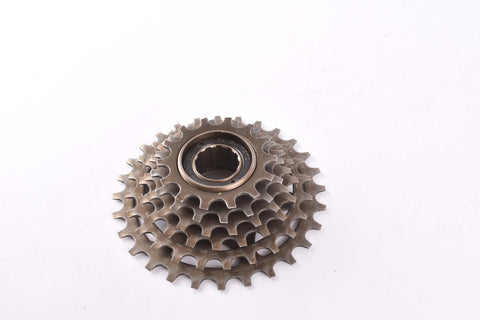 Shimano MF-Z012 6-speed Uniglide freewheel with 14-28 teeth and english thread from 1988
