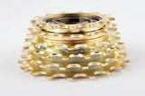 NEW Suntour freewheel gold, 6-speed, 13-18 teeth, from the 1980s NOS