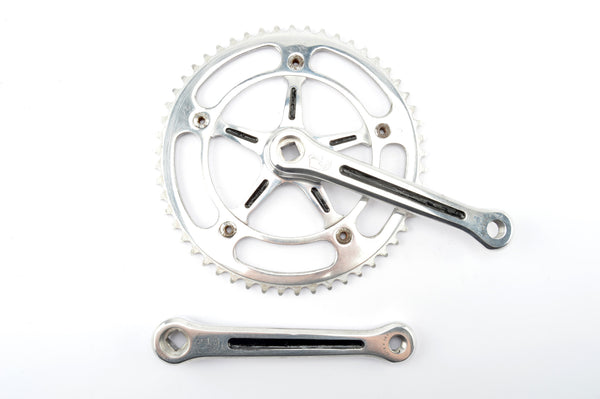 Campagnolo Record Pista #1051 crankset with 53 teeth and 165 length from the 1960s