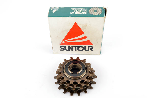 NEW Suntour freewheel, 5-speed, 14-18 teeth, from the 1980s NOS
