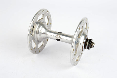 Campagnolo Record #1035 High Flange front Hub with 28 holes from the 1960s - 80s