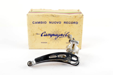 NEW Campagnolo #1052/NT Nuovo Record clamp-on front derailleur from the 1970s - 80s NOS/NIB