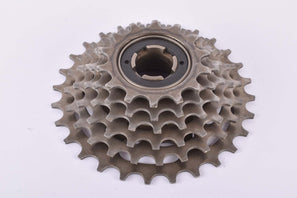 Suntour Alpha 6-speed Freewheel with 14-28 teeth and english thread from 1987