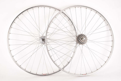 Wheelset with Mavic Module 3 Argent D Clincher Rims and Sachs Galaxie Hubs