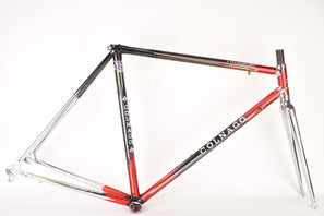Colnago Master Piu frame set in 52.5 cm (c-t) / 51.0 cm (c-c) with Columbus Gilco Design Profilo S4 tubing from the 1990s