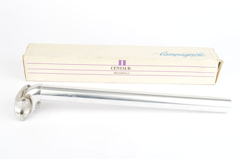 NEW Campagnolo silver polished Centaur MTB long version seatpost in 26.8 diameter from the 1990s NOS/NIB