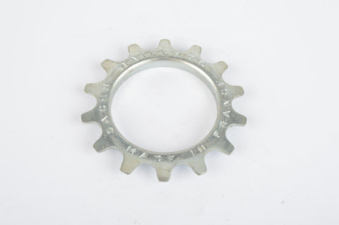 NOS Sachs Maillard steel Freewheel Cog, threaded on outside, with 14 teeth from the 1980s - 1990s