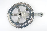 Shimano 105 #FC-1050 right crank arm with chainrings 42/53 teeth and 170mm length from 1988
