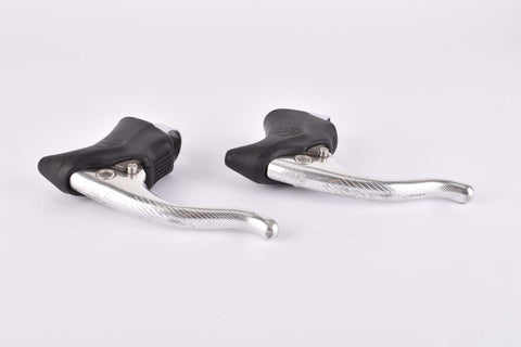 Campagnolo Chorus brake lever set with black hoods from the 1980s / 90s