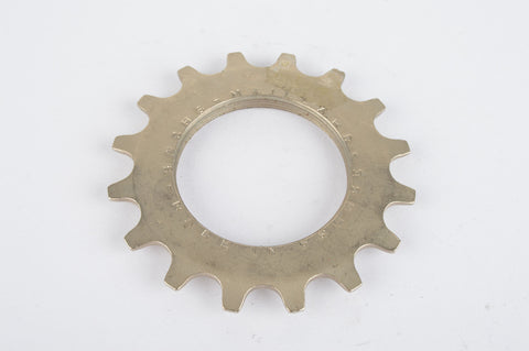 NOS Sachs Maillard steel Freewheel Cog, threaded on inside, with 16 teeth from the 1980s - 1990s