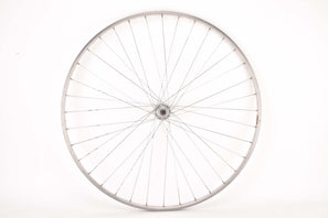 "28"" (700C) rear Wheel with Sanremo Tubular Rim and Fratelli Brivio Italia 3 piece Hub with english thread from the 1950s - 1960s"