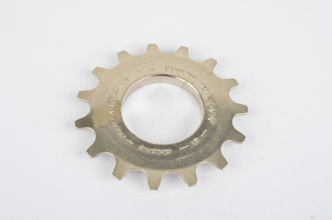 NOS Sachs Maillard #LY steel Freewheel Cog, threaded on outside, with 15 teeth from the 1980s - 1990s
