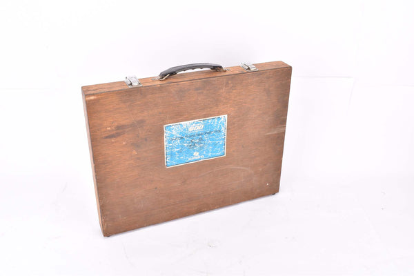Empty Shimano 600 #MF-6151 Multi Freewheel Parts Box (wooden case)