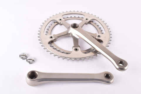 Miche Leader branded F. Moser crankset with 42/53 teeth and 170mm length from the 1980s
