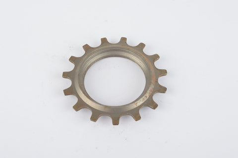 NOS Everest or Regina sprocket, double threaded on inside, with 15 teeth
