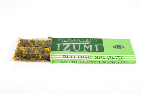 "NEW Izumi 1/2inch X 1/8"" single-speed chain from the 1980s NOS/NIB"