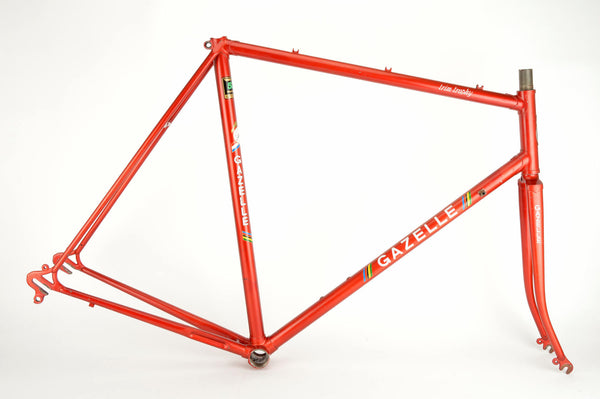 Gazelle Trim Trophy frame  in 59 cm (c-t) / 57.5 cm (c-c), with Reynolds 531 tubing
